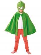 PJ Masks™-Gecko Kostümset Umhang und Maske grün