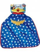 Wonder Woman™ Kostümset für Kinder blau-weiß