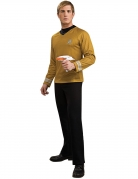 Captain Kirk™-Herrenkostüm Deluxe Star Trek gelb
