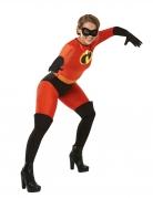 Miss Indestructible™-Lizenzkostüm für Damen rot-schwarz