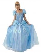 Cinderella™-Disney-Lizenzkostüm Deluxe für Erwachsene blau