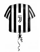 Trikot-Folienballon Juventus™ 60cm schwarz-weiss