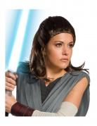 Rey™-Damenperücke The last Jedi™ Lizenz-Zubehör braun