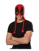 Deadpool™-Kopfbedeckung für Herren Straßenkarneval rot-schwarz