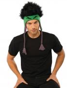 Hulk™-Mütze für Herren Straßenkarneval schwarz-grün-lila