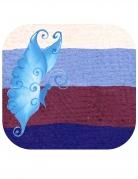 Split Cake Make-up Spezialeffekt Schmetterling 9g blau-töne