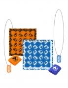Nerf™-Acessoire-Set 4 Stück blau-orange