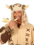 Wikinger-Horn Kostümaccessoire beige 24cm