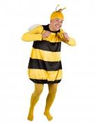 Biene Willi™ und Maja™ Kostüm für Erwachsene gelb-schwarz