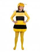 Biene Maja™ Strumpfhose für Erwachsene gelb