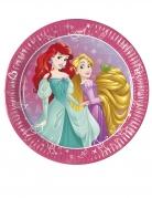 Disney™-Pappteller Prinzessinnen 8 Stück bunt 20cm