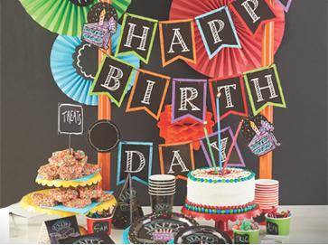 Geburtstagsparty für Erwachsene